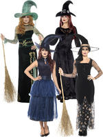 Ladies Deluxe Witch Costume