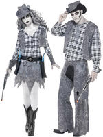 Adult's Ghost Town Cowboy Costume