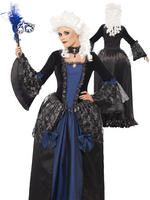 Ladies Baroque Beauty Masquerade Costume