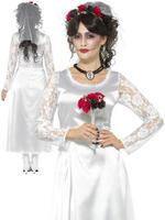 Ladies Day of the Dead Bride Costume