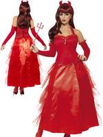 Ladies Devilish Glamour Costume