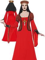 Ladies Lady Assassin In Waiting Costume