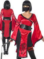 Ladies Shadow Warrior Costume