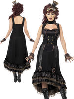 Ladies Steam Punk Vamp Costume