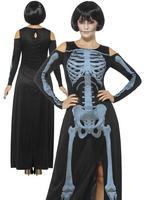 Ladies X-Ray Skeleton Costume