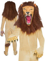 Men's Cirque Sinister Vicious Circus Lion Costume