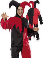 Men's Dark Jester Costume