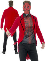 Men's Day of the Dead Devil Costume