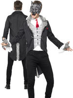 Men's Deluxe Big Bad Wolf Costume