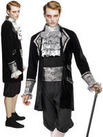Men's Fever Baroque Vampire Costume