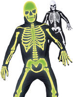 Men's Gothic Manor Graveyard Bones Costume