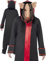 Mens Saw Pig Costume