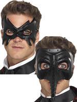 Mens Venetian Masquerade Eye Mask Gothic Phantom Halloween Fancy Dress Accessory