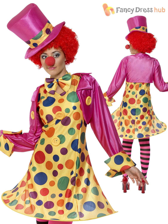 Adult Clown Fancy Dress 29