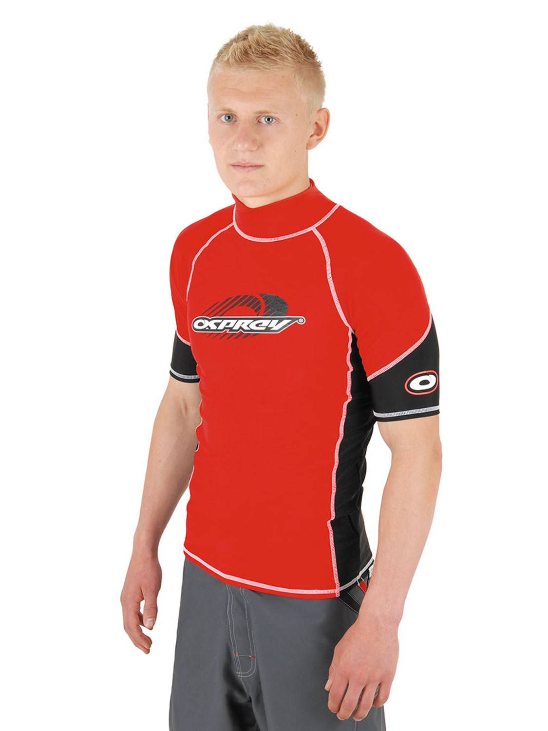 Osprey Torrent Mens Rash Vest Guard Lycra Rashy Beach Wear ...