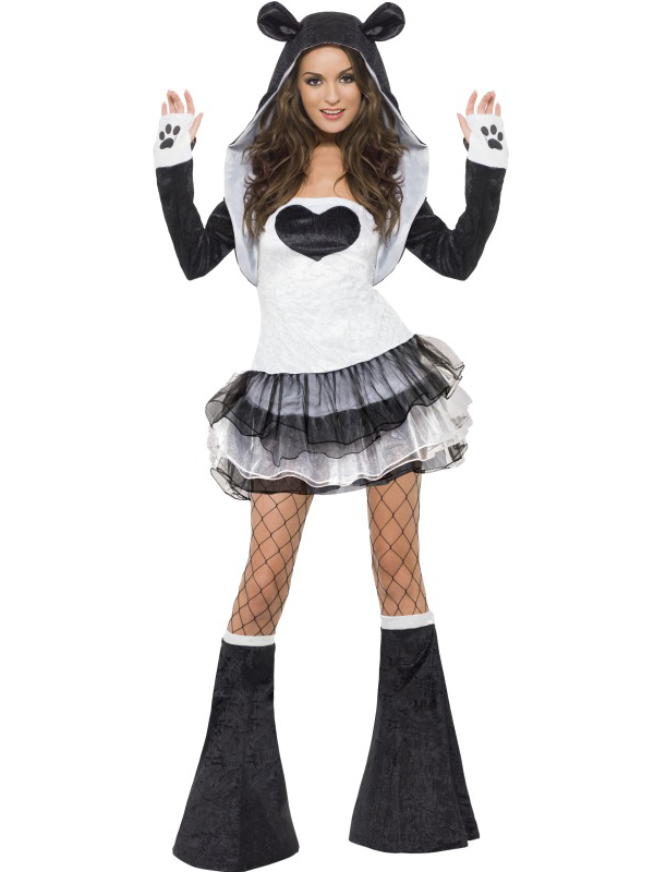 Elegant Ladies Fever Sexy Animal Fancy Dress Costumes Womens Hen