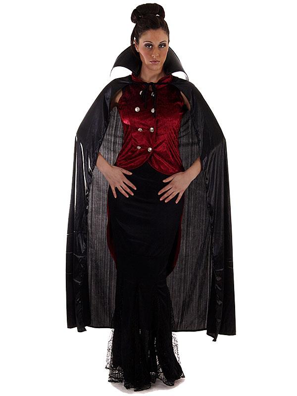 Costume De Vampire Sexy Gothique Halloween Femme Ebay