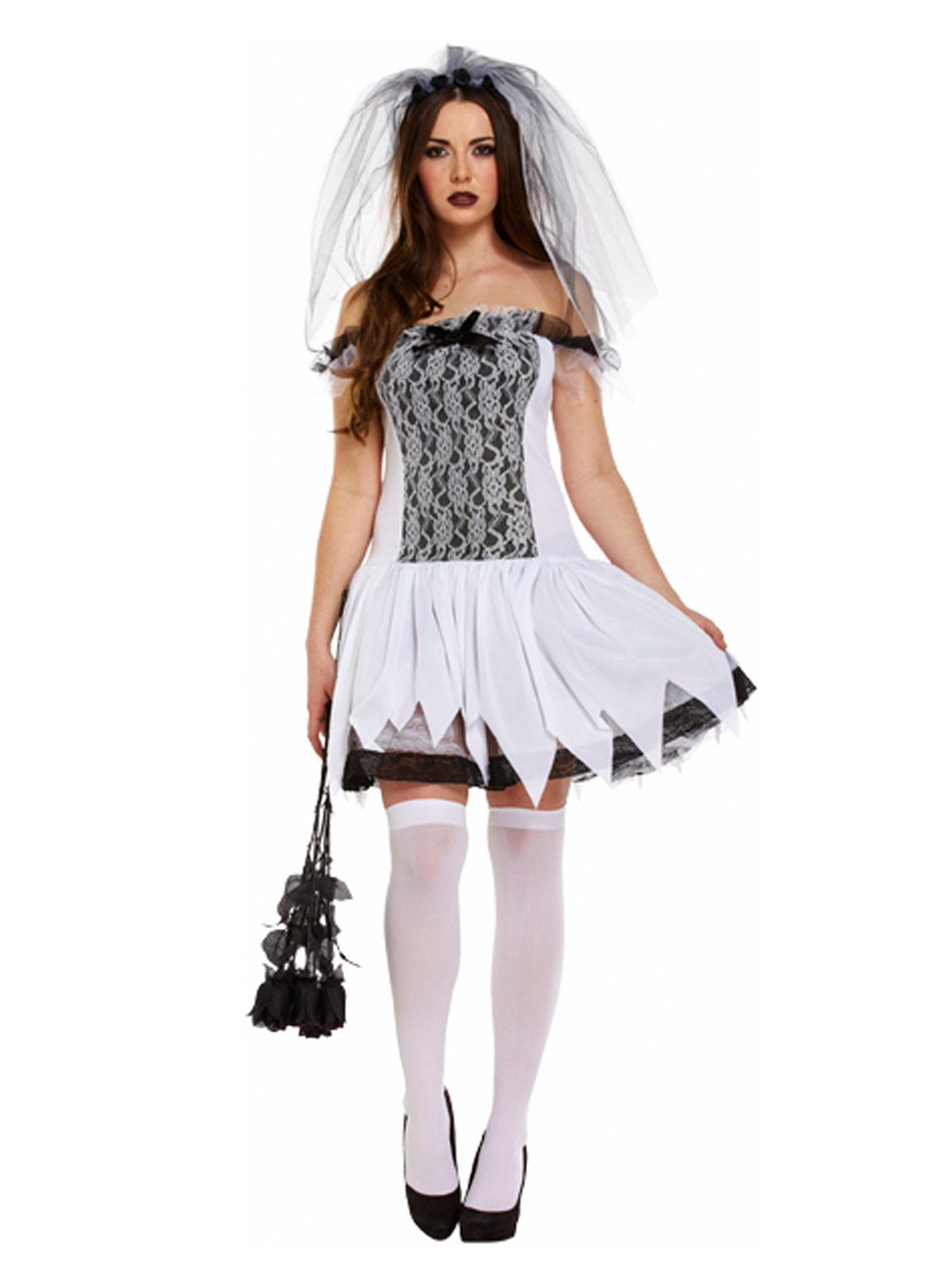 d guisement femme mari e sexy mort costume halloween zombie fant me horreur ebay. Black Bedroom Furniture Sets. Home Design Ideas