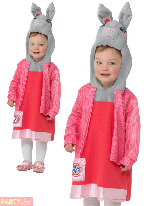 Kids Peter Rabbit Benjamin Lily Fancy Dress Costume Boys Girls World Book Day