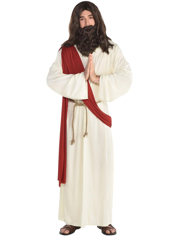 Homme JESUS Déguisement Religieux Moïse Joseph Nativité Pâques Tenue