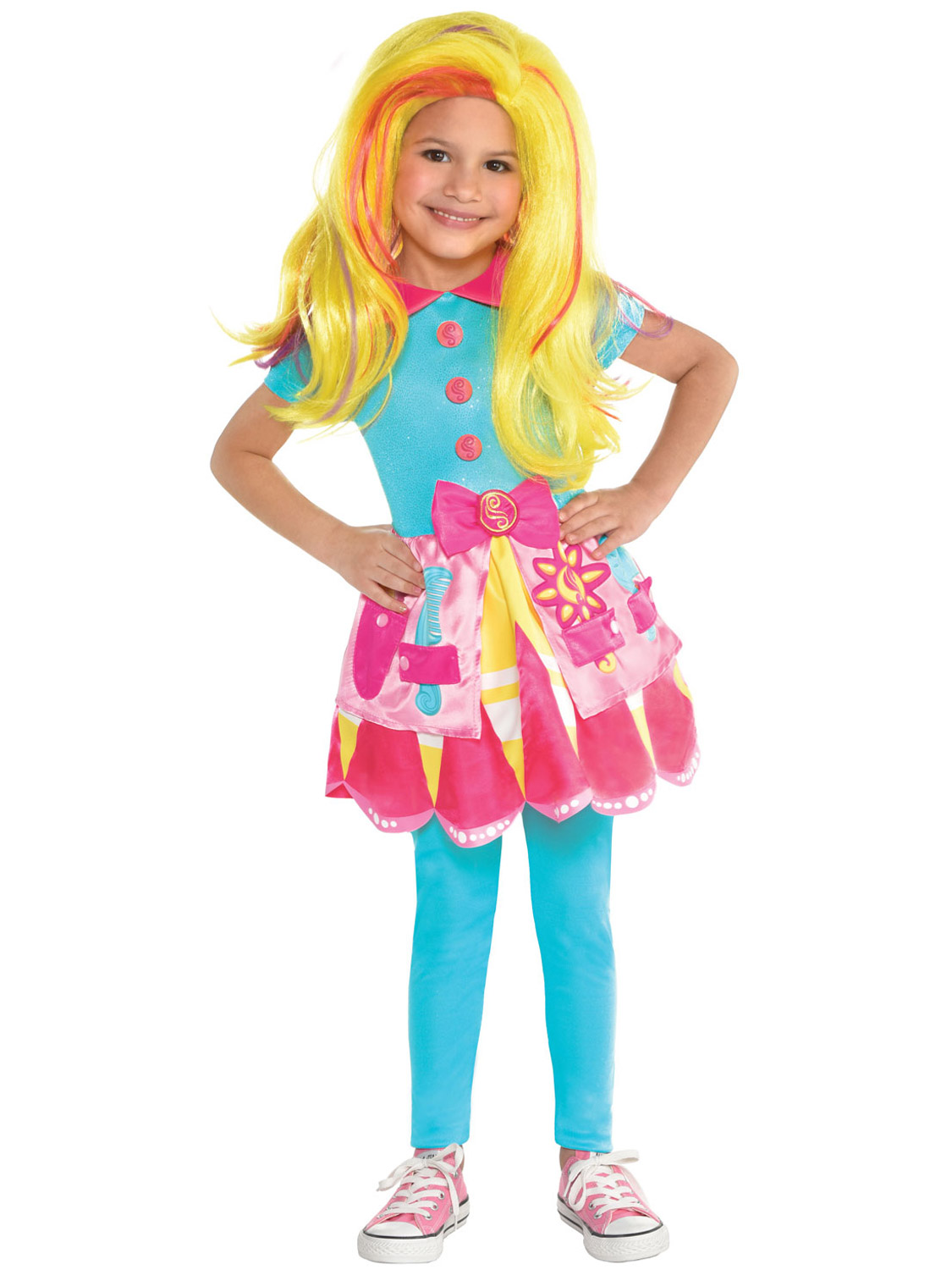 Girls Sunny Day Costume Childs TV Nick Jr Fancy Dress Outfit Book Day Week Kids