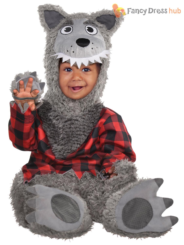 Toddler Halloween Costume Spider Cat Wolf Baby Fancy Dress Boys Girls Book Week