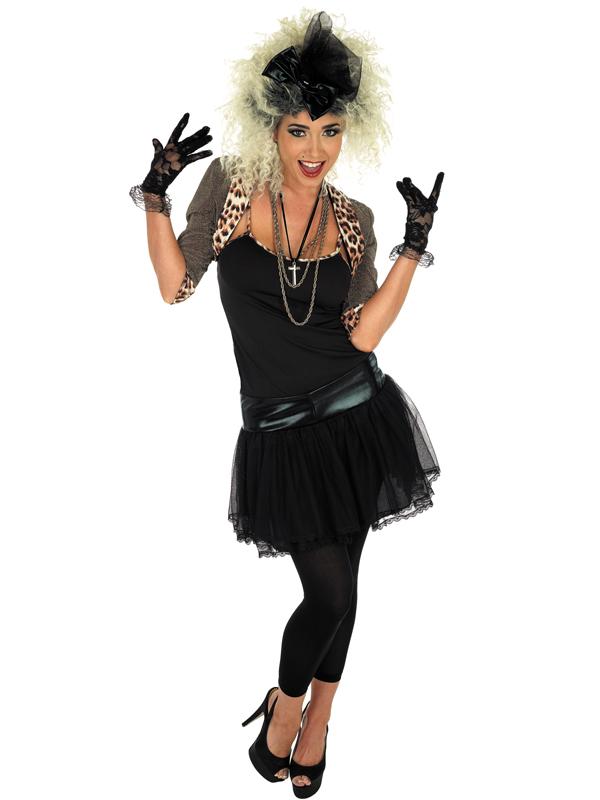 1980s Celebrity Ladies Fancy Dress Pop Star Retro 80s ...