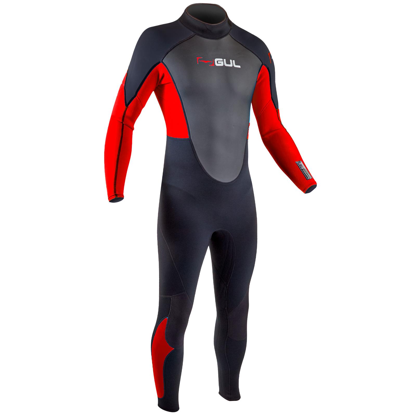 Gul Mens Response 3//2mm Full Steamer Wetsuit 3mm Surf Kayak Dive Bodyboard Swim