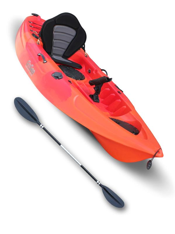 Sit On Top Fishing Kayak Single Ocean Sea