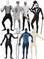 Men's Halloween Second Skin Costume