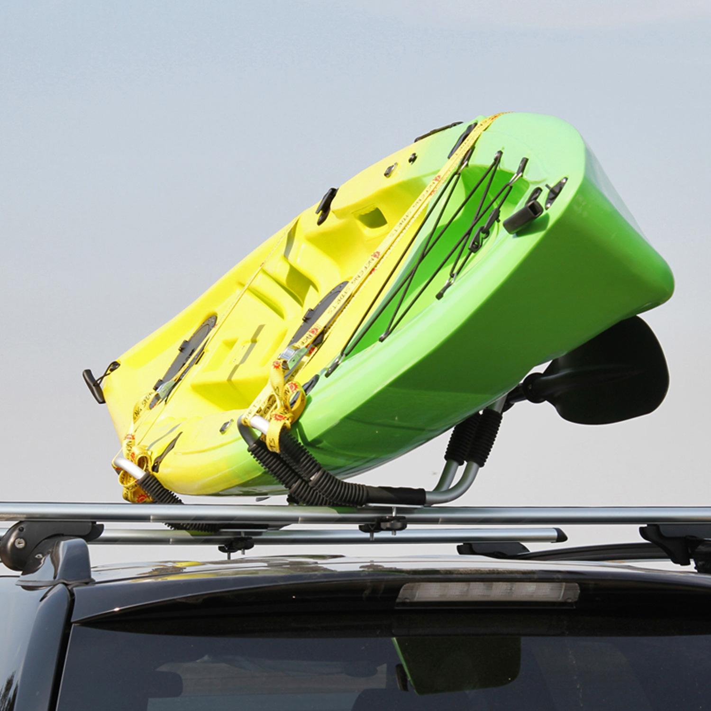 Gosea Kayak Carrier Car Roof Rack Universal Double J Bar