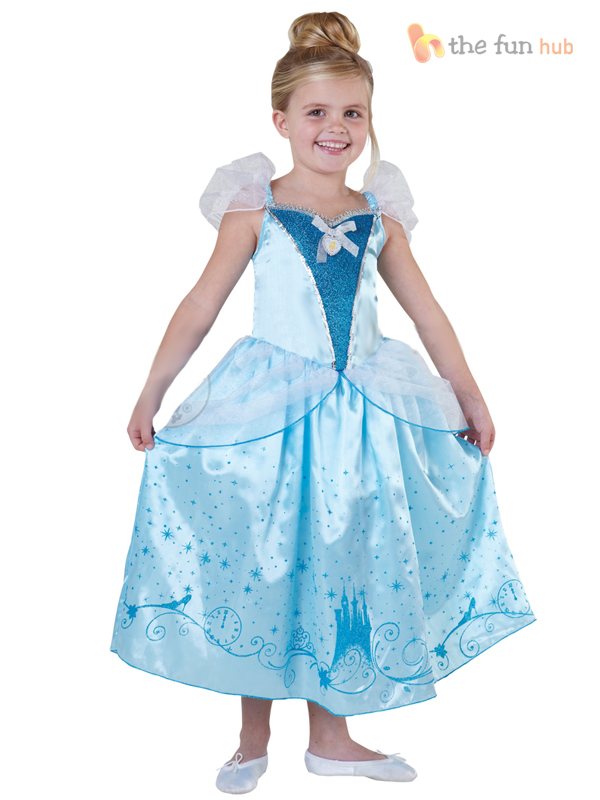 Deluxe-Disney-Princess-Girls-Fairytale-Fancy-Dress-Costume-Book-Week-Outfit
