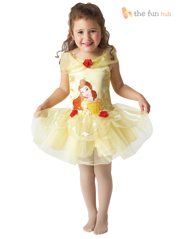 Disney-Princess-Ballerina-Tutu-Girls-Fancy-Dress-Costume-Toddler-Baby-Outfit