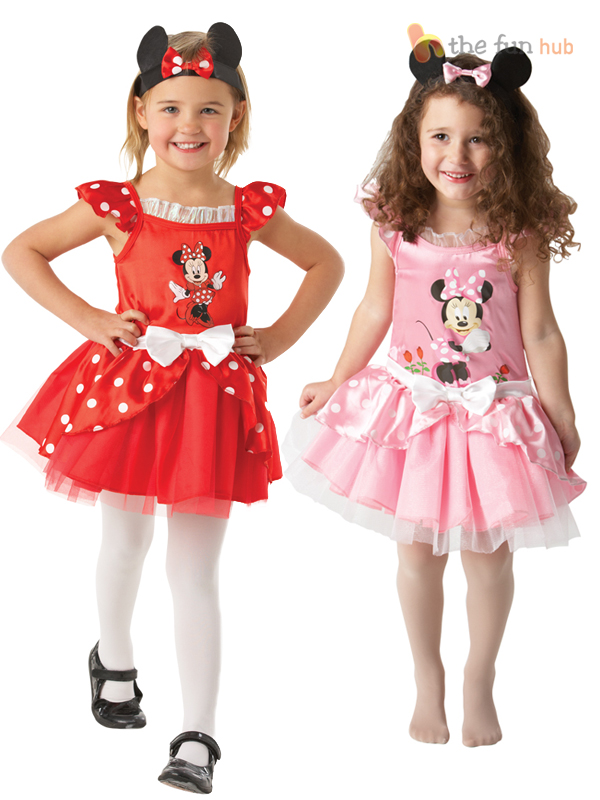Disney-Minnie-Mouse-Ballerina-Tutu-Costume-Girls-Toddler-Baby-Fancy-Dress-Outfit