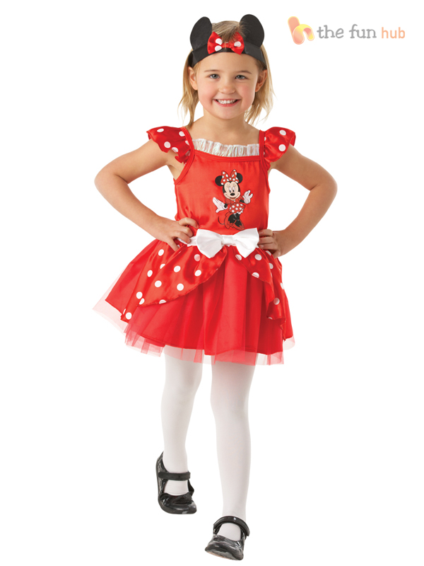 c820ad00fa9 Details about Disney Minnie Mouse Ballerina Tutu Costume Girls Toddler Baby  Fancy Dress Outfit