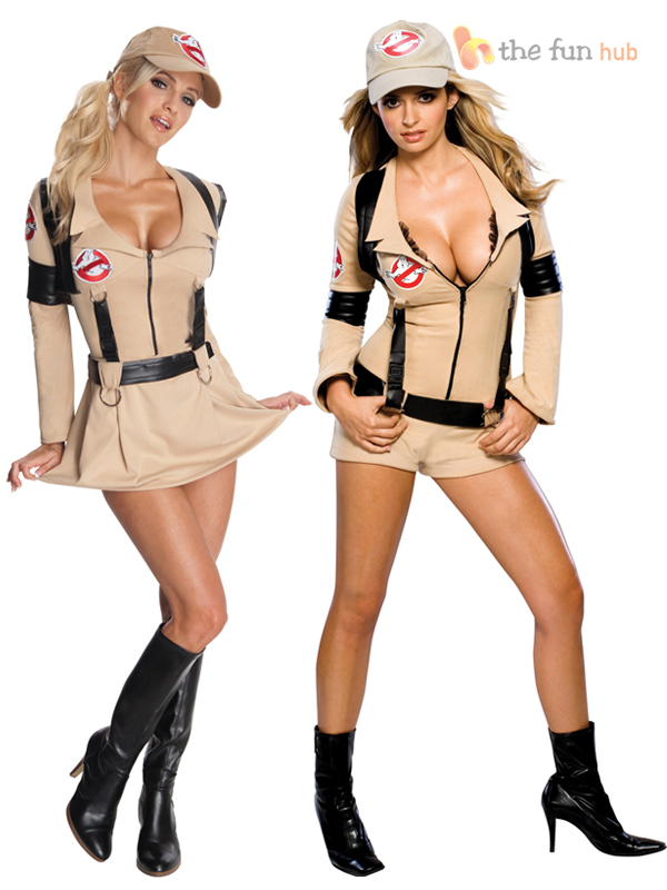 Ladies-Sexy-Ghostbusters-Fancy-Dress-Costume-80s-Movie-Womens-Halloween-Outfit