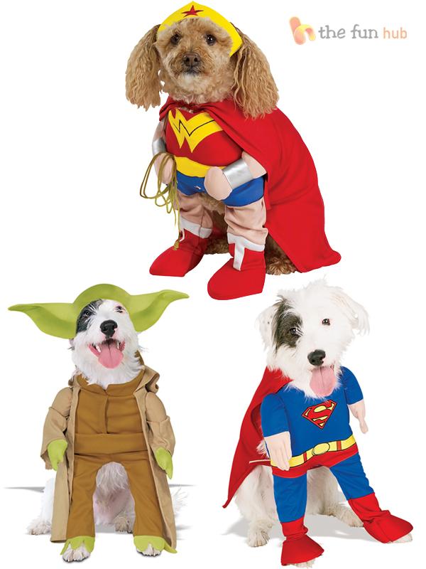 Fancy-Dress-Costume-For-Pet-Dog-Yoda-Superman-Wonderwoman-Halloween-Outfit
