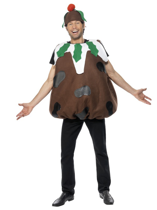 Men's Christmas Pudding Costume