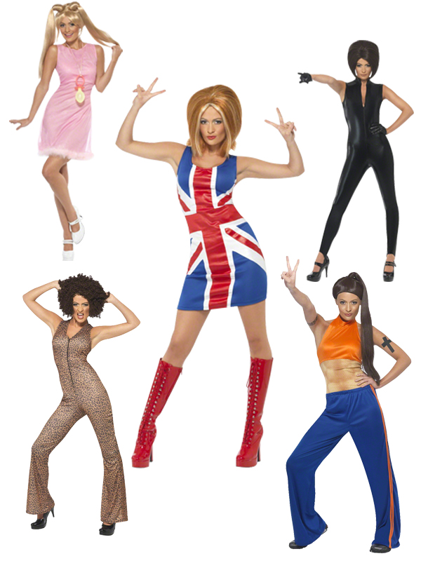 Adult Spice Girls Costume