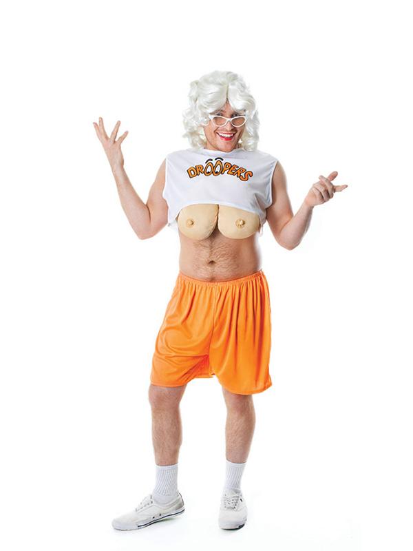 How to make fake boobs costume
