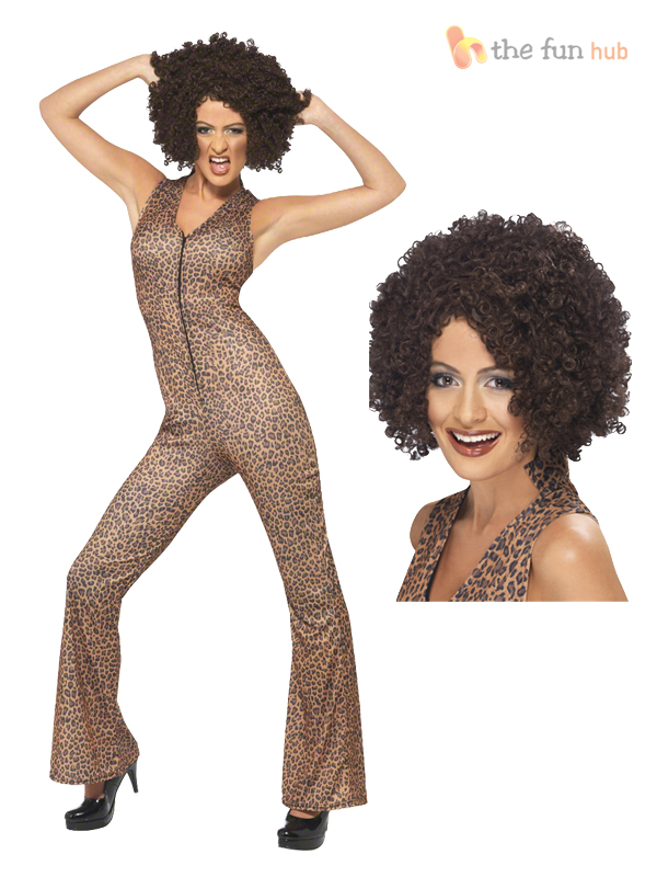 Adult Spice Girls Costume + Wig 90's Fancy Dress Outfit ...  Adult Spice Gir...