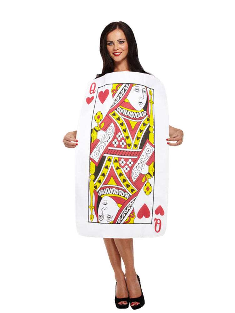 Ladies Queen of Hearts Costume