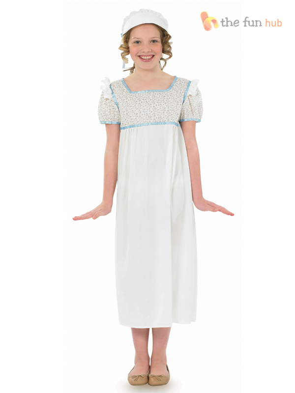 Girls-Georgian-Victorian-Historical-Book-Week-Costume-Child-Fancy-Dress-Outfit