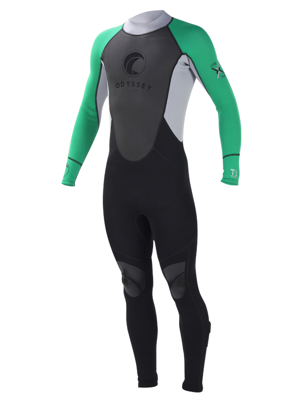 Odyssey-3mm-Mens-Full-Steamer-Titanium-Kayak-Surf-Dive-Wetsuit-Wet-Suit-S-XL