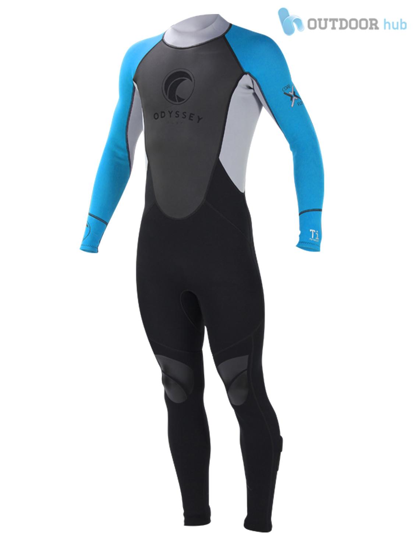 Odyssey-3mm-Mens-Full-Steamer-Titanium-Kayak-Surf-Dive-Wetsuit-Wet-Suit-S-XL