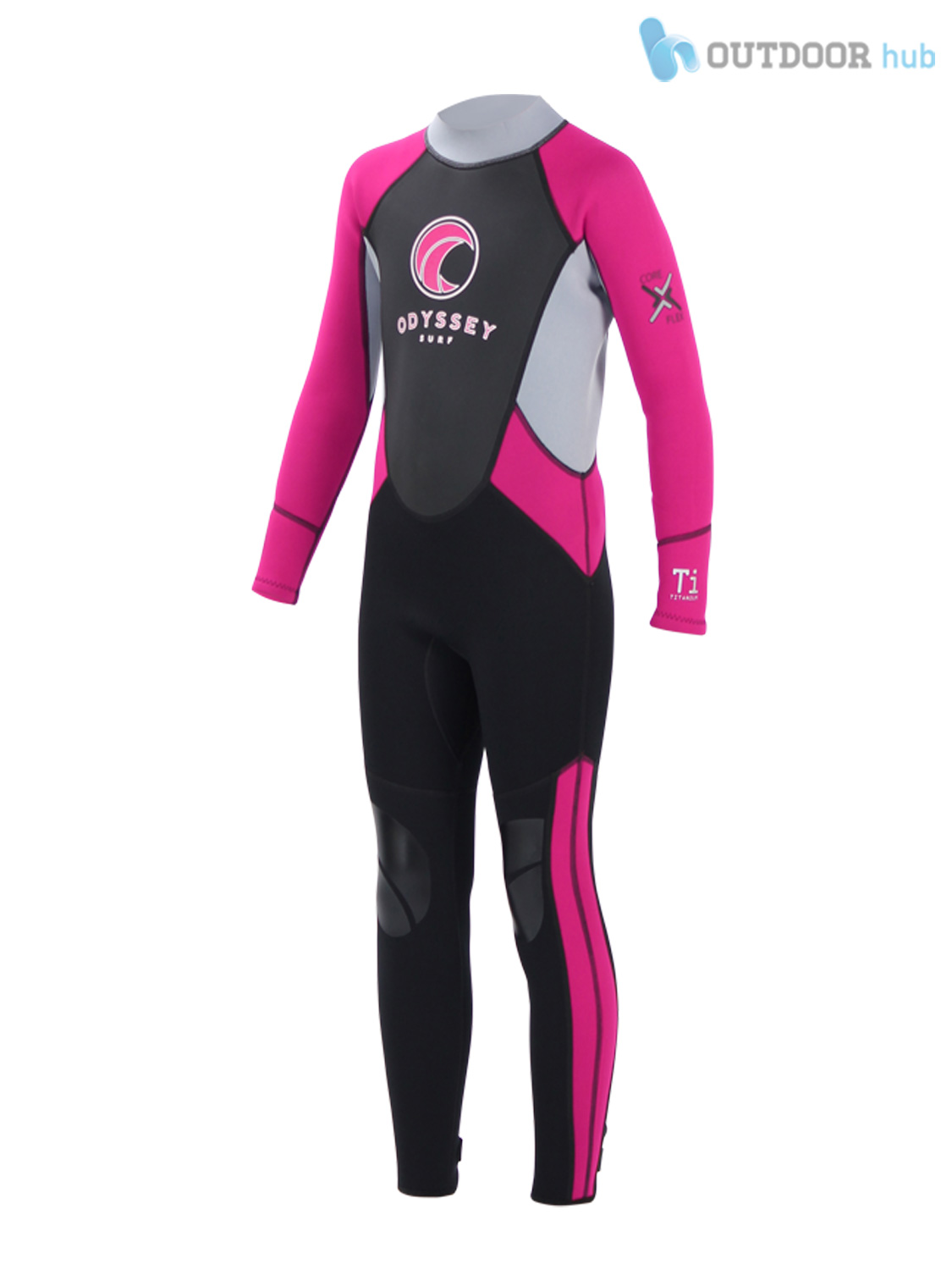 Odyssey-3mm-Childs-Kids-Junior-Teenage-Full-Steamer-Titanium-Wetsuit-XXS-XXL