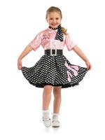Girl's 1950s Rock n Roll Costume