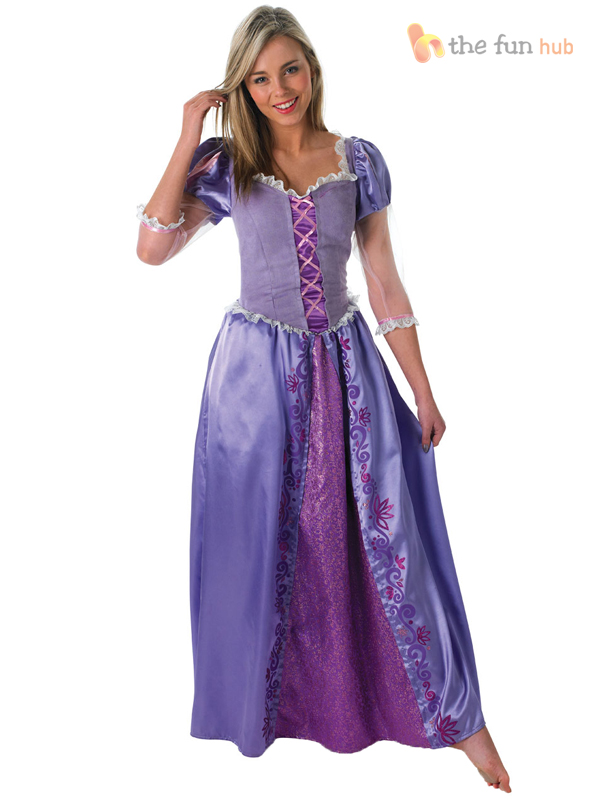 Official Ladies Deluxe Disney Princess Fairytale Costume Adult Womens Outfit  sc 1 st  eBay & Costumes collection on eBay!