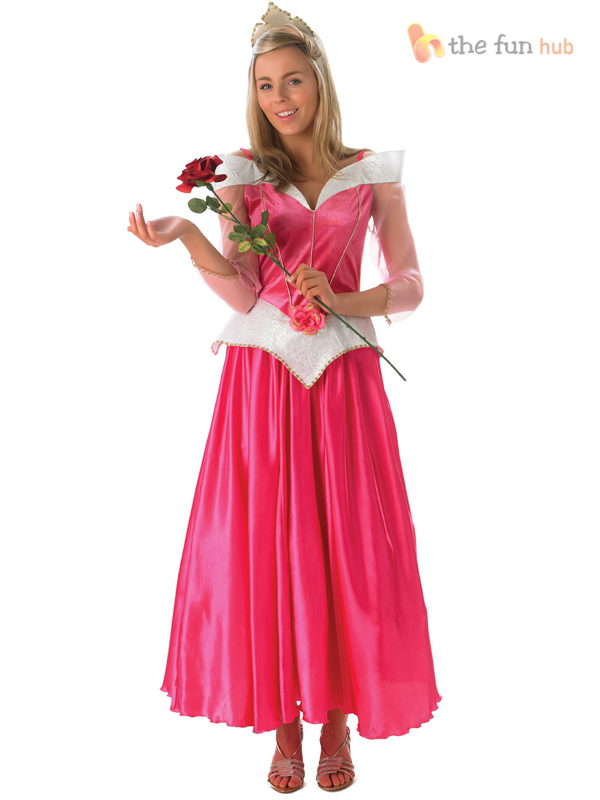 Official-Ladies-Deluxe-Disney-Princess-Fairytale-Costume-Adult-Womens-Outfit