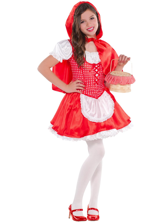Girls Red Riding Hood Goldilocks Costume World Book Day